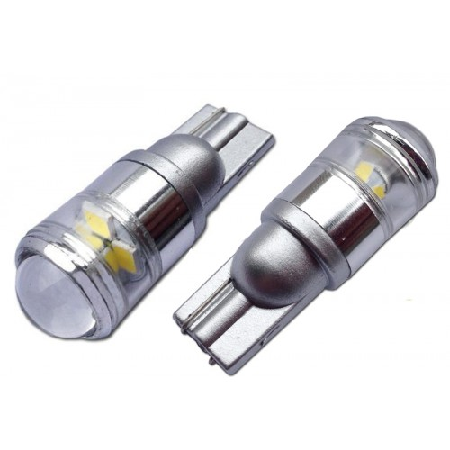 Светодиодная лампа W5W (T10) 4SMD (5050) CREE WHITE