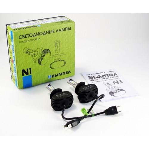 Светодиодные лампы головного света N1 H7 (2 ШТ.)