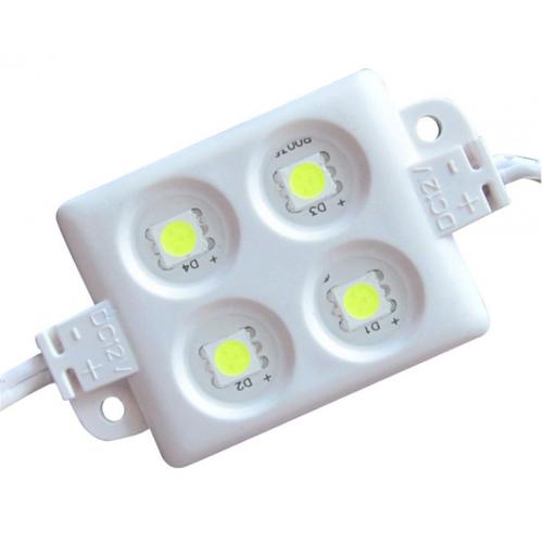 Светодиодный модуль 4 LED SMD 5050 1.2Вт