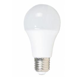 Лампа A60, E27, 12W, теплый/белый свет
