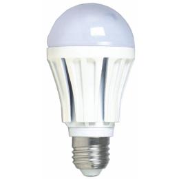 Лампа A60, E27, 12W, теплый/холодный свет, ал.