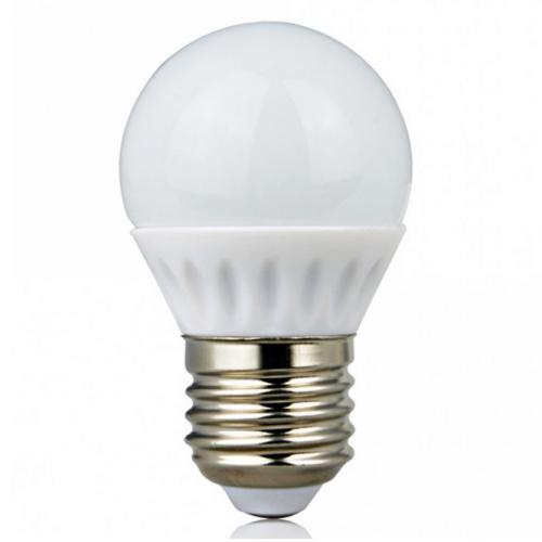 Лампа G45, E27, 4W, теплый/белый/холодный свет